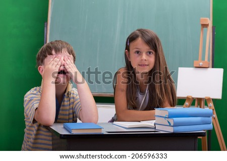 Pupils - stock photo