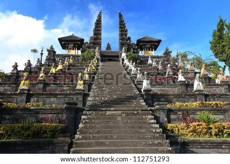 Pura Besakih, Bali - stock photo