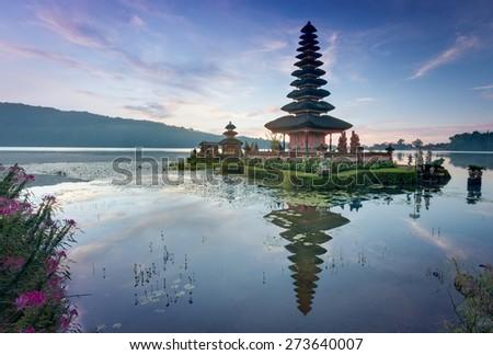 Pura Ulun Danu Beratan, Bali - stock photo