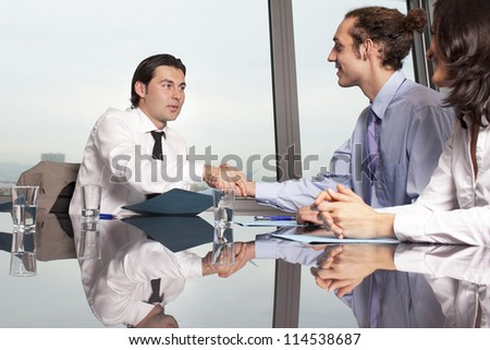 Purchase of insurance - stock photo
