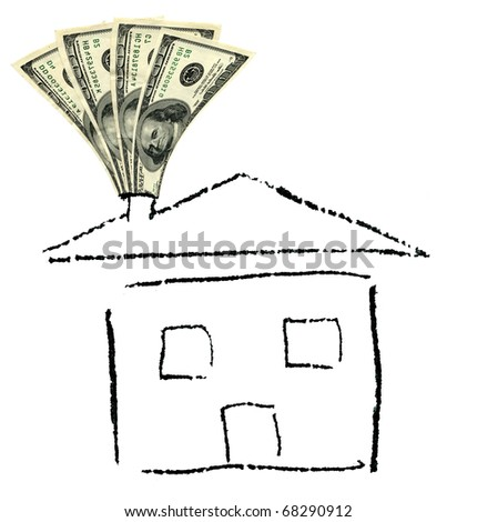 Purchasing house concept - stock photo