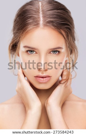 Pure - stock photo