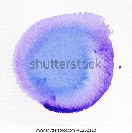 purple abstract watercolor background circle - stock photo