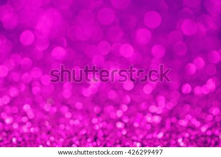 Purple background, Purple glitter bokeh abstract background, Defocused abstract purple background - stock photo