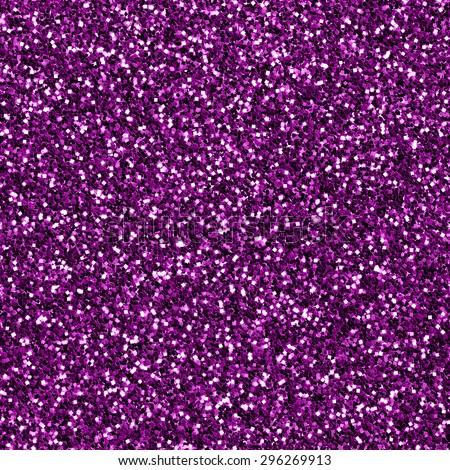 Purple glitter texture. Seamless background - stock photo