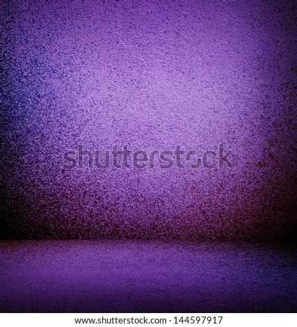 purple interior background - stock photo
