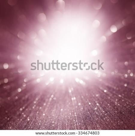 purple light burst background, abstract design - stock photo