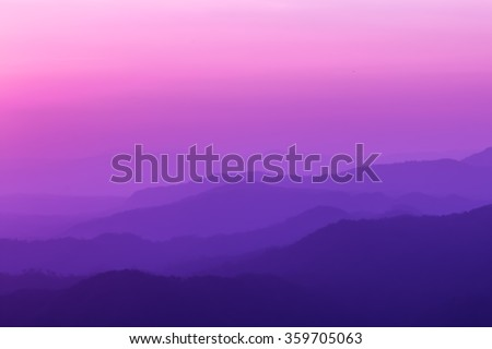 purple mountain Abstract Background. - stock photo