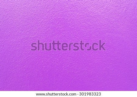 Purple paint on concrete wall texture background - stock photo