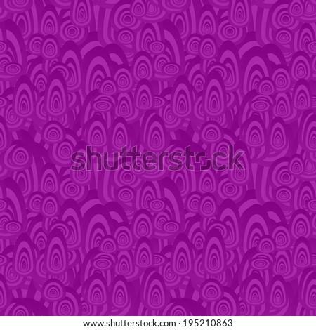 Purple seamless oval pattern background - jpg version - stock photo