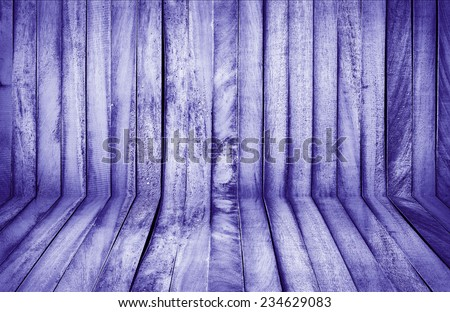 purple wall and floor siding weathered old wood background - stock photo