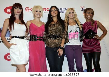 Pussycat Dolls - stock photo