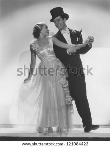 Puttin' on the ritz - stock photo