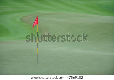 Putting Green - stock photo