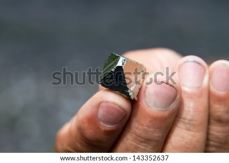 Pyrite, Colombia - stock photo