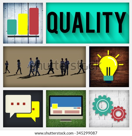 Quality Guarantee Potential Ability Capability Concept - stock photo