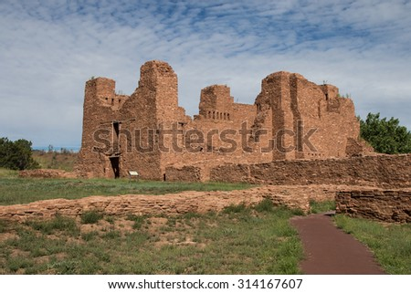 Quarai Ruins - stock photo