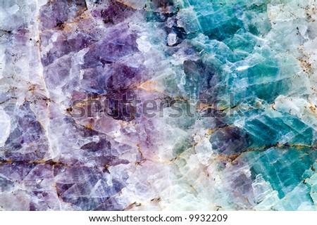 quartz stone background - stock photo
