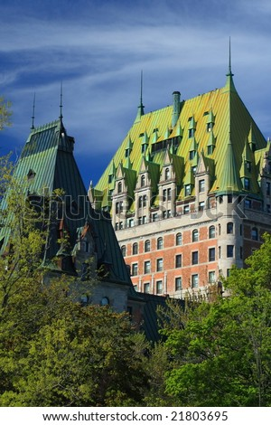 Quebec City - stock photo