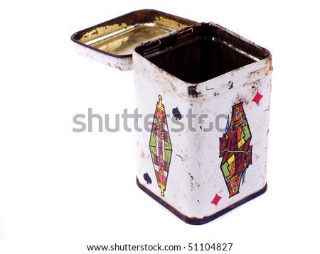 queen card box - stock photo