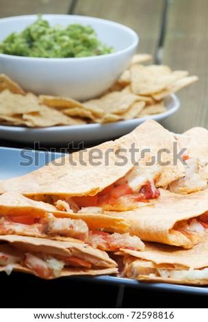 quesadilla - stock photo