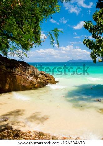 Quiet Getaway Serenity Shore - stock photo