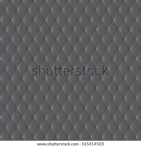 Quilted fabric background-Elegant simple quilted satiny fabric background; plenty of copyspace - stock photo