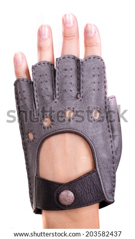 race glove - stock photo