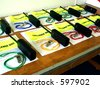 Race Officials packs - stock photo