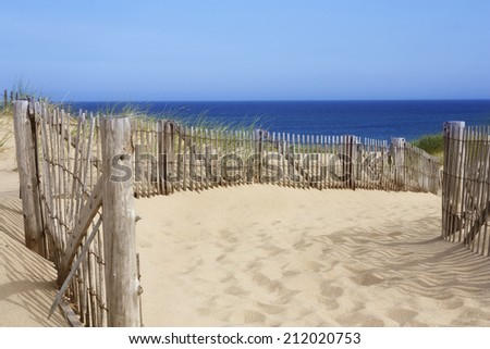 Race Point beach, Provincetown, Massachusetts - stock photo