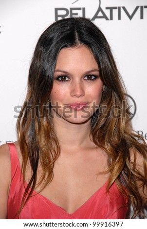 "Rachel Bilson at the 2011 Art Of Elysium ""Heaven"" Gala, Annenberg Bldg., California Science Center, Los Angeles, CA. 01-15-11 - stock photo"