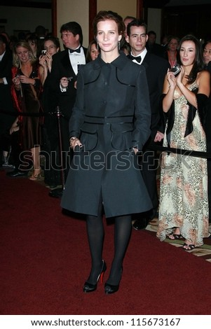 Rachel Griffiths at the G'Day USA Penfolds Black Tie Icon Gala. Hyatt Regency Century Plaza, Los Angeles, CA. 01-13-07 - stock photo