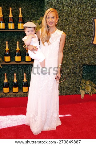 Rachel Zoe at the Fifth Annual Veuve Clicquot Polo Classic held at the Will Rogers State Historic Park in Los Angeles on October 11, 2014 in Los Angeles, California.  - stock photo