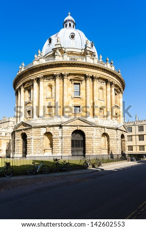 Radcliffe Camera, Oxford, Oxfordshire, England - stock photo