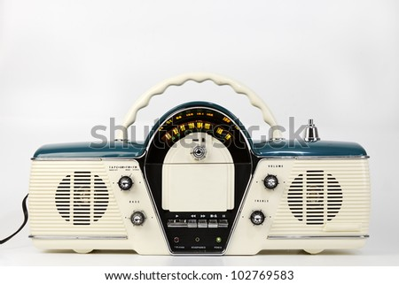 Radio - stock photo