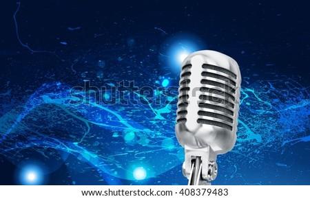 Radio. - stock photo