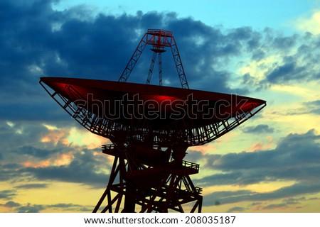 Radio Observatory - stock photo