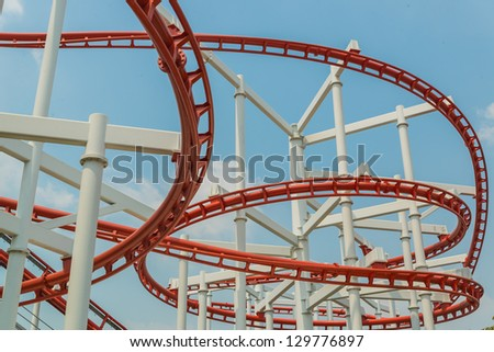 Rail sky at the park in bangkok province (Thailand) - stock photo