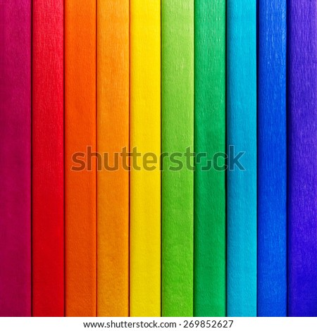 Rainbow background colors in line - stock photo