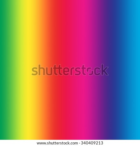Rainbow background. Full natural colors of spectrum in square canvas - stock photo
