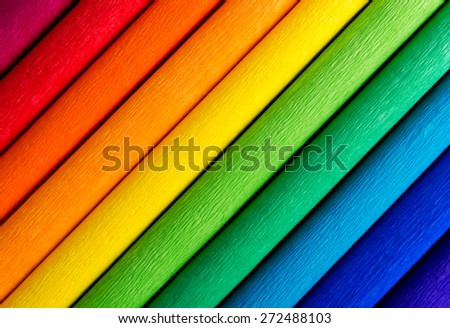 Rainbow colorful background lines - stock photo