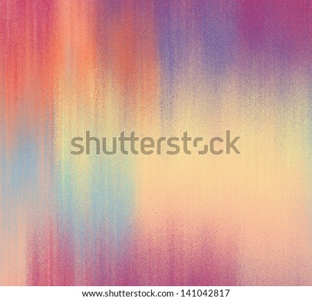 Rainbow grunge stained background in yellow,blue,orange, violet colors - stock photo