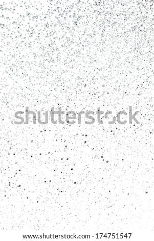raindrops on a white background - stock photo