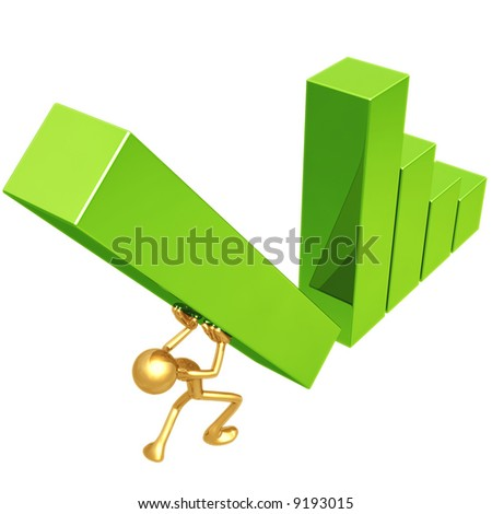 Raise The Bar - stock photo