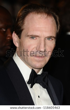 Ralph Fiennes arriving for the Royal World Premiere of 'Skyfall' at Royal Albert Hall, London. 23/10/2012 Picture by: Steve Vas - stock photo