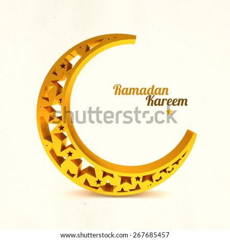 Ramadan Kareem illustration - stock photo