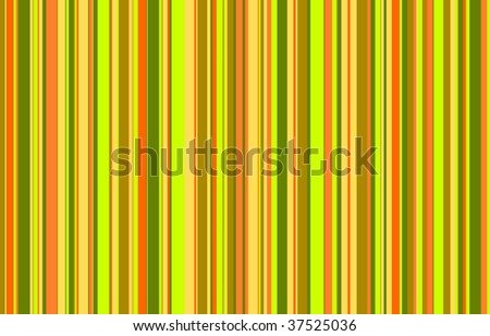Random stripes in the same colors as my random dots illustration - stock photo