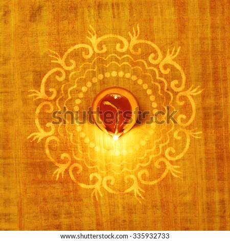 Earthen Lamp Stock Photos, Images, & Pictures | Shutterstock Indian Religious Background
