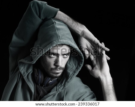 Rapper - stock photo