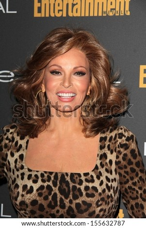 Raquel Welch at the 2013 Entertainment Weekly Pre-Emmy Party, Fig& Olive, Los Angeles, CA 09-20-13 - stock photo